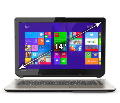 "Refurbished Satellite BE45 14"" FHD Intel Core i5 Laptop"