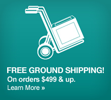 Free ground shipping on laptops $499+