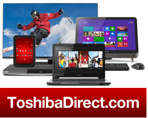 Buy Direct from ToshibaDirect.com