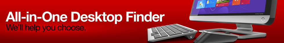 Toshiba desktop finder. We'll help you choose.