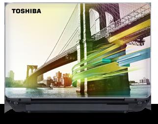 Эксклюзивный дизайн ноутбуков Toshiba Natural Selection.