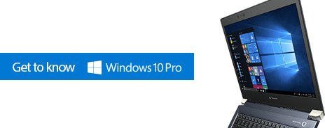 Get to know Windows 10 Pro