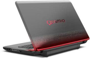 Qosmio® X770 Open Back View