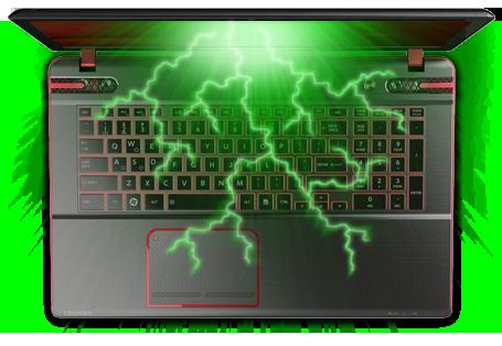"""17.3"""" Qosmio X870 Series Laptops"""
