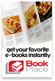 Get your favorite e-books instantly at Toshiba Book Place
