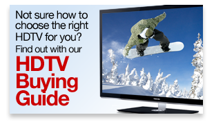 Not sure how to choose the right HDTV for you? Find out with our HDTV Buying Guide »
