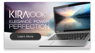 Introducing the powerful side of luxury. Learn more about KIRAbook™