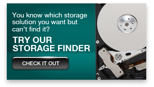 You know which storage solution you want but can't find it? Try our Storage Finder