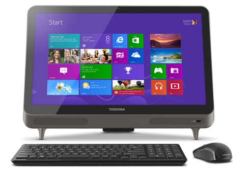 Toshiba All-in-one LX835-D3140 Desktop