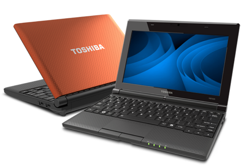 Toshiba mini notebook NB505-N508OR Laptop
