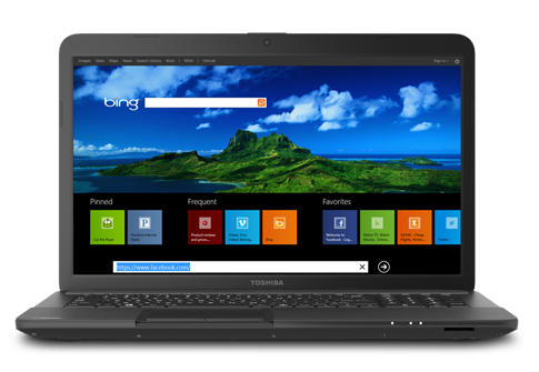 Toshiba Satellite C875D-S7345 Laptop
