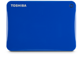 Toshiba 1TB Canvio® Connect II Portable Hard Drive -  Blue