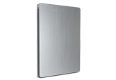500GB Canvio® Slim Portable Hard Drive (Silver)