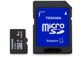 8GB Exceria M301 microSDHC Class 10 UHS-1 (48MB/s) Red