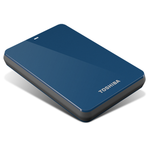 500GB Canvio® 3.0 Portable Hard Drive (Blue)
