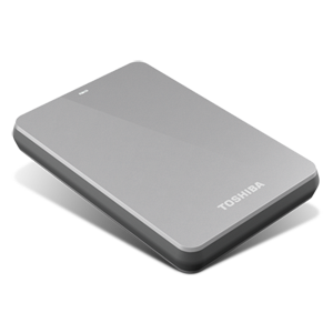 500GB Canvio® 3.0 Portable Hard Drive (Silver)
