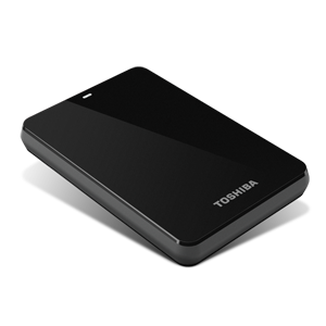 750GB Canvio® 3.0 Portable Hard Drive (Black)
