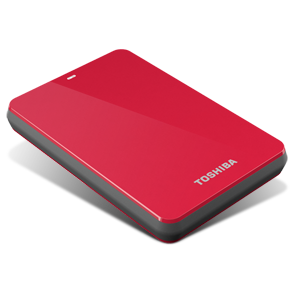 1TB Canvio® 3.0 Portable Hard Drive (Red)