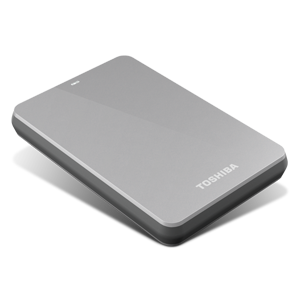 1TB Canvio® 3.0 Portable Hard Drive (Silver)