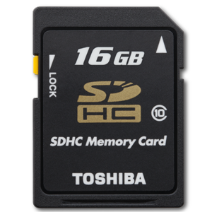 Toshiba 16GB Class 10 Secure Digital High Capacity Card