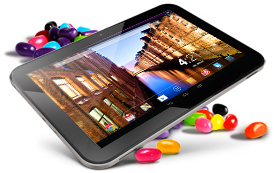 Browse the line of tablets powered by Android 4.2