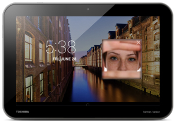 Face Unlock provides security and personalized options.