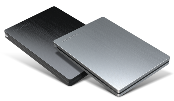 Canvio® Slim Portable External Hard Drives