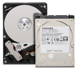 Toshiba Internal SATA Hard Disk Drives