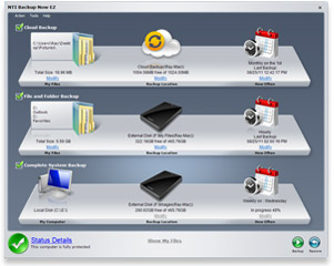 Backup Software Screenshot