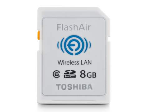FlashAir™ Wireless SD Cards