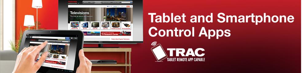 Tablet and Smartphone Control Apps