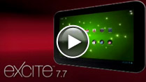 Excite™ 7.7 Tablet Video
