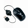 Toshiba USB Optical Retractable Mini Mouse-Black