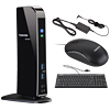 Toshiba dynadock® U3.0 USB 3.0 Docking Station Power Bundle