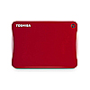 Toshiba 500GB Canvio® Connect II Portable Hard Drive - Red