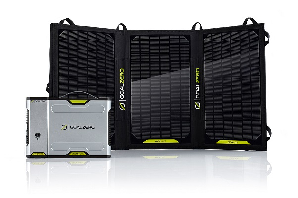 Goal Zero Sherpa 50 Power Bank + Nomad 20 Solar Kit (42011)