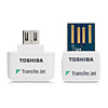 Toshiba TransferJet micro USB/USB wireless adapter set pack